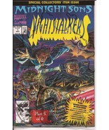 Marvel Nightstalkers #1 Premiere Issue Collector's Item Sealed. Midnight... - $3.95