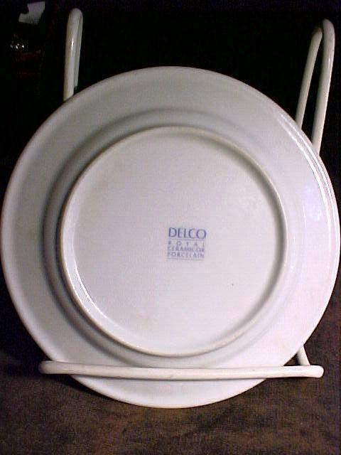 & Delco Royal Ceramicor Porcelain 6½\