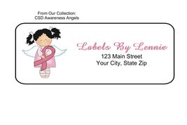 Csd awareness angels  1 personalized return address labels thumb200