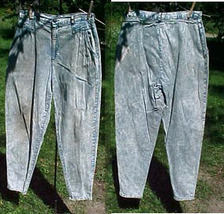 "CHEROKEE JEANS,W29""xL30"";SIZE 12;GRUNGED;VINTAGE RETRO  - $24.99"