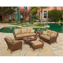 Villa Nova Garden set of 6 woven pieces - $4,249.00