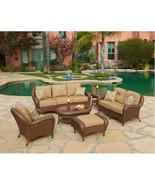 Villa Nova Garden set of 6 woven pieces - $4,249.00