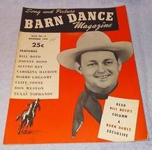 Barn Dance Magazine 1947 Johnny Bond, Bill Boyd, Carolina Hayride - $9.95