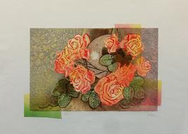 """Mikulas Kravjansky """"Florals"""" 1995 - S/N Etching... - $300.00"""