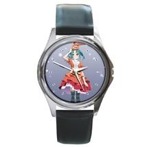 Tsukimonogatari Manga Anime Leather Watch Wristwatch - $12.00
