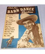 Barn Dance Magazine August 1947 Roy Rogers Burl Ives Enest Tubb - $19.95