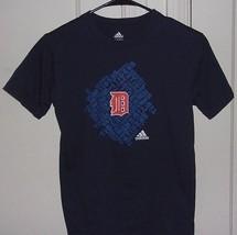 Adidas Boys Medium 10/12 Detroit Tigers Graphic T Shirt - $8.96