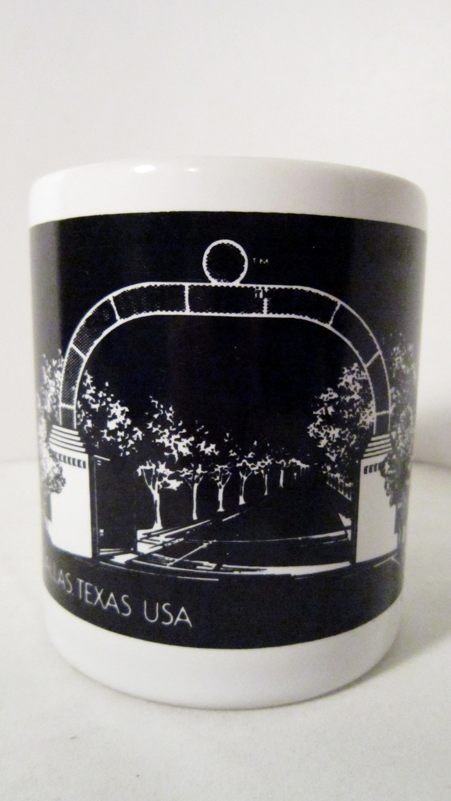 Primary image for TV show Dallas Coffee Mug 1986 Lorimar Telepictures Southfork Texas