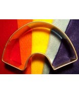 Rainbow cookie cutter - $5.00