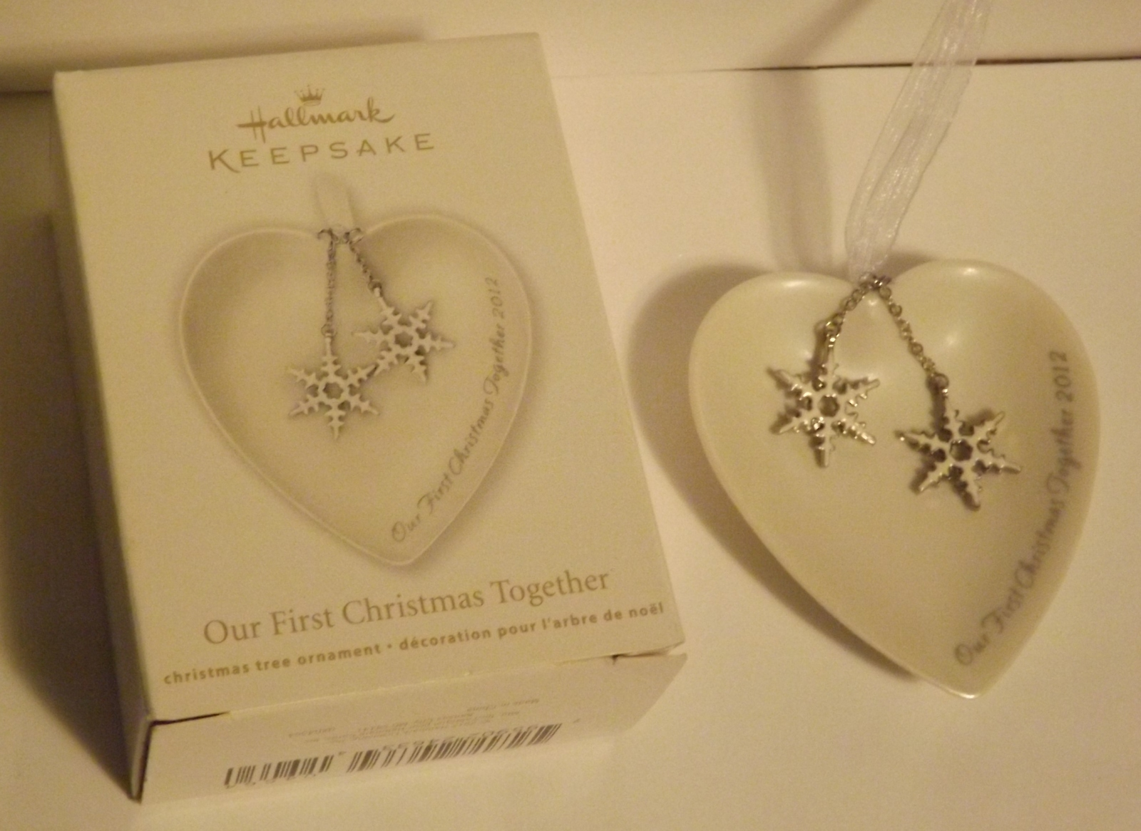 Hallmark Keepsake Ornament Our First Christmas Together ...