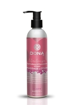 Dona Pheromone Massage Lotion Flirty Aroma - Blushing Berry  - 8 Oz - $14.95