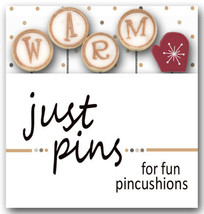 W Is For Warm JP164 set 5 for pincushions JABC Just Another Button Co - $13.95