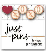 Kisses JP165 set 5 for pincushions JABC Just Another Button Co - $13.95