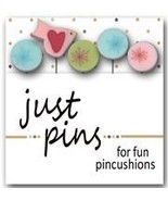 Touch of Frost JP166 set 5 for pincushions JABC Just Another Button Co - $13.95