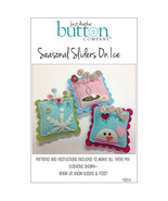 Seasonal Sliders On Ice Pattern Only pincushion... - $8.00