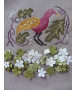 Birds Of A Funky Feather 1 cross stitch chart By The Bay Needleart  - $9.00