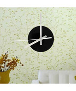 Quartz Round Wall Clock Movement Accessories Mechanism Movement 1 Set Wa... - $13.50
