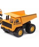 Mighty Wheels Dump Truck Die Cast Metal &Plastic Construction Toy Vehicl... - $15.79
