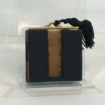 Vintage K&K Kotler and Kopit Gold Two Tone Compact with Black Tassel and... - $48.99