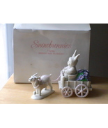 "Dept. 56 2001 Snowbunnies ""April Bring May Flowers"" Figurine  - $40.00"