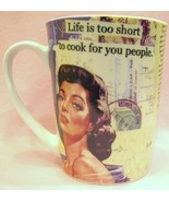 Mina Lee Studios Mug Life is too short to cook ... - $20.00