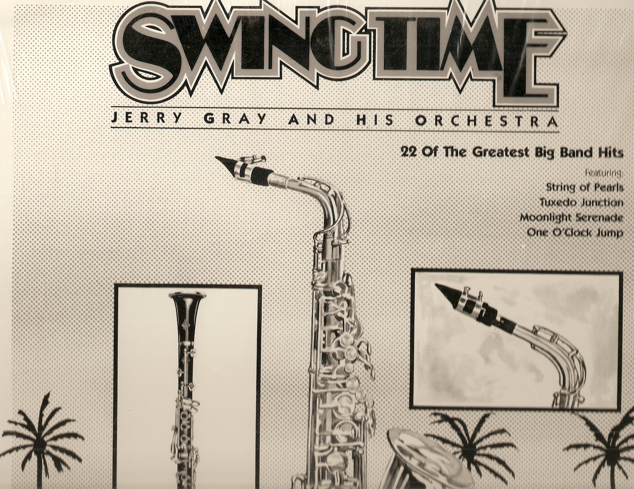 LP-- JERRY GRAY & HIS ORCHESTRA Swingtime