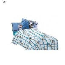 Disney Full Sheet Set Olaf Build A Snowman Mediterranean Bed Sheet Set NEW - $50.00