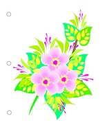 Flower0997  Binder Dividers-Digital Download-Cl... - $3.00