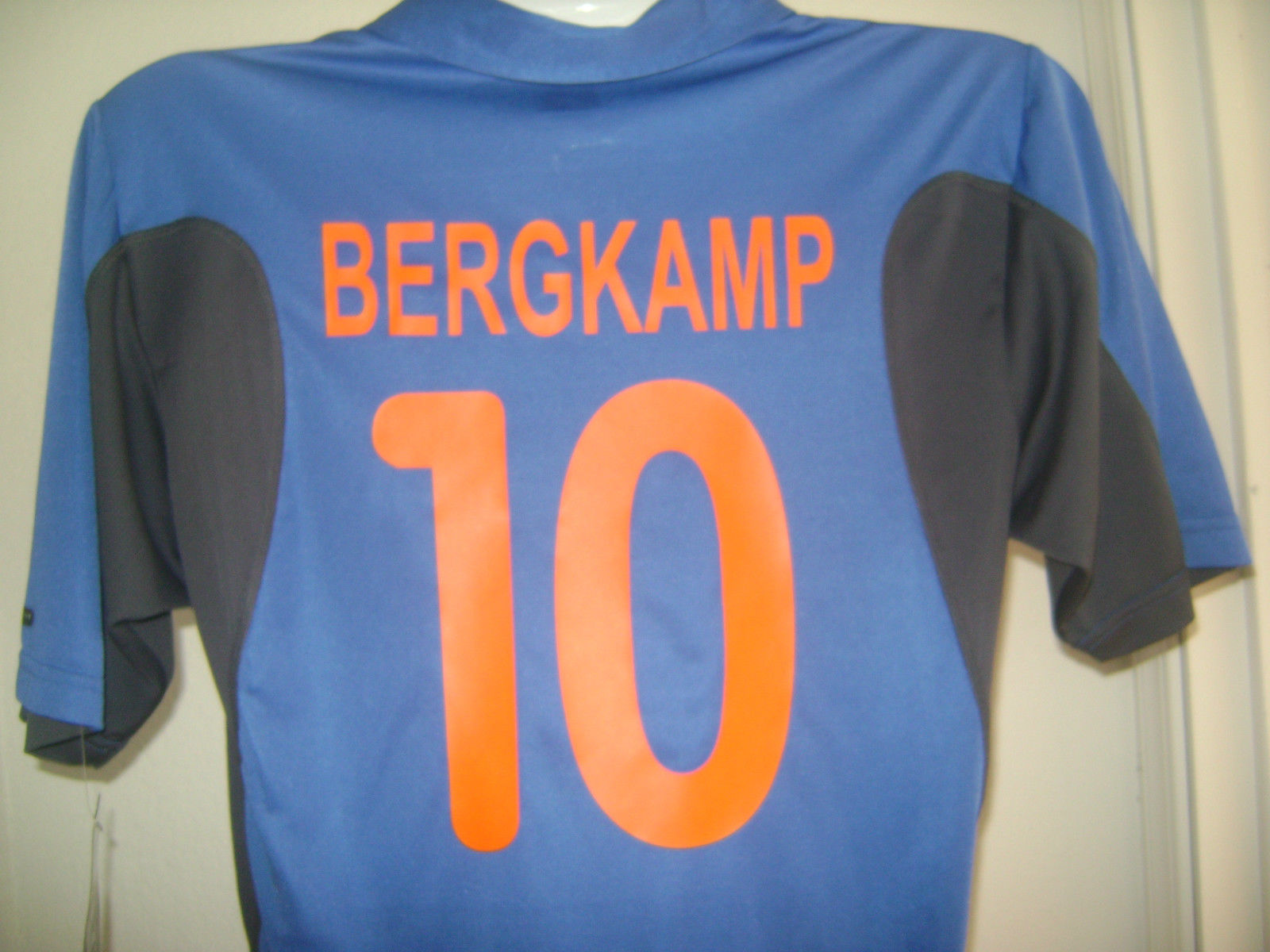 78b68f04e NIKE HOLLAND DENNIS BERGKAMP AWAY JERSEY 00 02 NETHERLANDS EURO 2000 LARGE