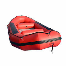 BRIS 13ft Inflatable River Raft 6 Person White Water Rescue Raft FloatingTubes image 2