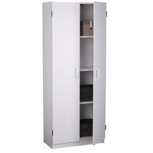 White Kitchen Cabinet Pantry Closet Storage Organizer