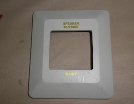 Off White Inside / Outside Speaker Switch Bezel - $6.93