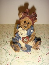 Boyds Bearstone Momma McBear & Caledonia Quiet Time - $12.49