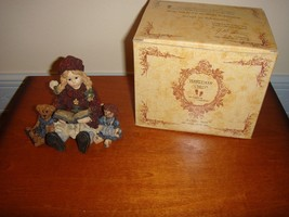 Boyds Bears Yesterday's Child Dollstone Megan With Elliot & Annie - $17.99
