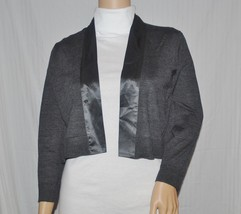 Calvin Klein Women's Shrug Sweater Gray or Black NWT $59 Ret Small Med (... - $24.74