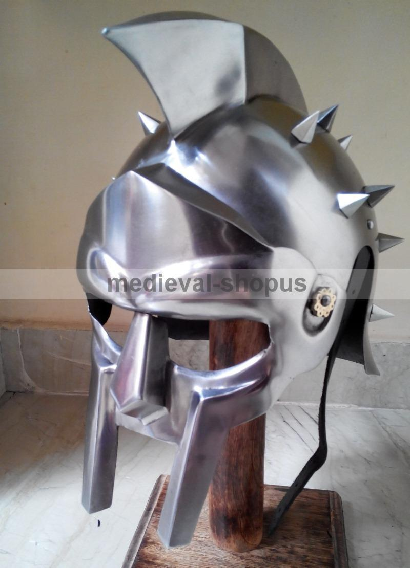 how to make a roman gladiator helmet