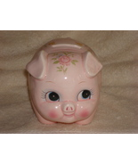 "Pink ""Lefton"" Piggy Bank - $20.00"