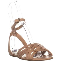 Coach Summers Ankle Strap Slide Sandals, Beechwood, 7.5 US / 37.5 EU - $63.35