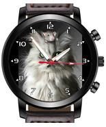 Cat N Mouse Friends funny portrait Unique Wrist Watch FAST UK - $45.00