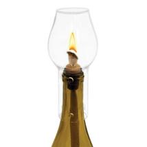 bottle lamp, Ceramic Stopper Glass Hurricane Bottle Topper wine bottle t... - $25.19