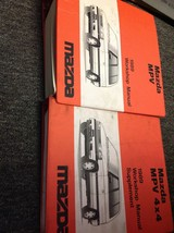1989 Mazda MPV VAN Service Repair Shop Workshop Manual SET FACTORY W Sup... - $17.82