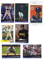 Baseball Cards Trading Cards Set of 13 Assorted & 3 Sealed Packs Basebal... - $14.00