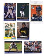 Baseball Cards Trading Cards Set of 13 Assorted & 3 Sealed Packs Baseball Sports - £10.99 GBP