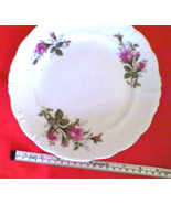 "Vintage China Luncheon Plate RARE 9"" Rose Pattern Serving Plate UCAGCO J... - $15.99"