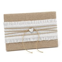 Hortense B. Hewitt Rustic Romance Wedding Accessories, Guest Book - $23.29