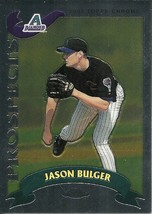 2002 Topps Chrome Traded Jason Bulger T195 Diamondbacks  - $1.00