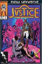 Marvel JUSTICE (1986 Series) #1 FN - $0.49