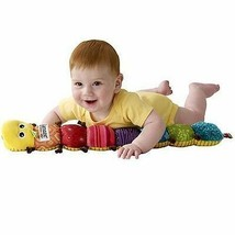 Baby Musical Inchworm Squeeze Sound Maker Development Crawling Infant NEW - $29.53