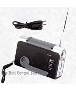 Survival Emergency Gear Crank Radio / LED Flashlight / Wind-Up / FM Weather - $19.70