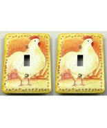Rooster Switch Plate Tin Covers - $5.99